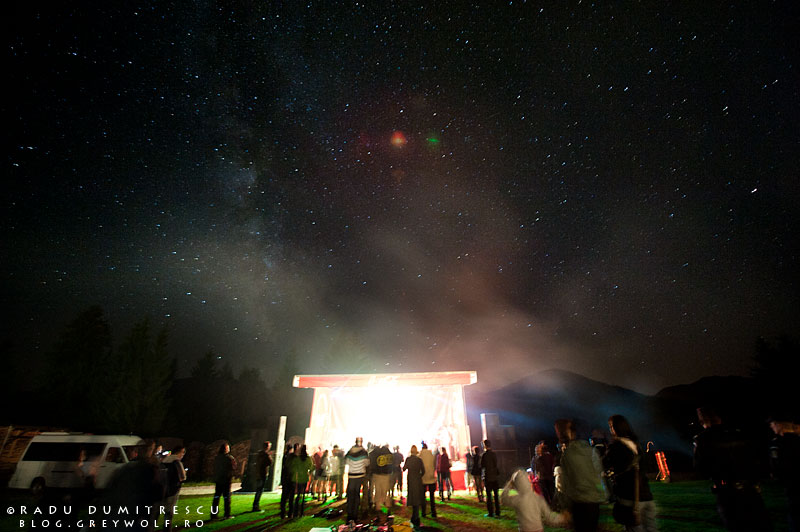 fotografie concert natura calea lactee astronomica - radu dumitrescu