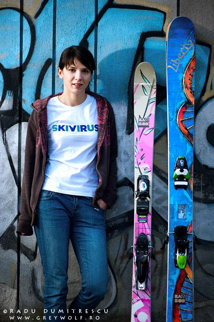 sedinta foto pentru tricouri skivirus - outdoor - radu dumitrescu