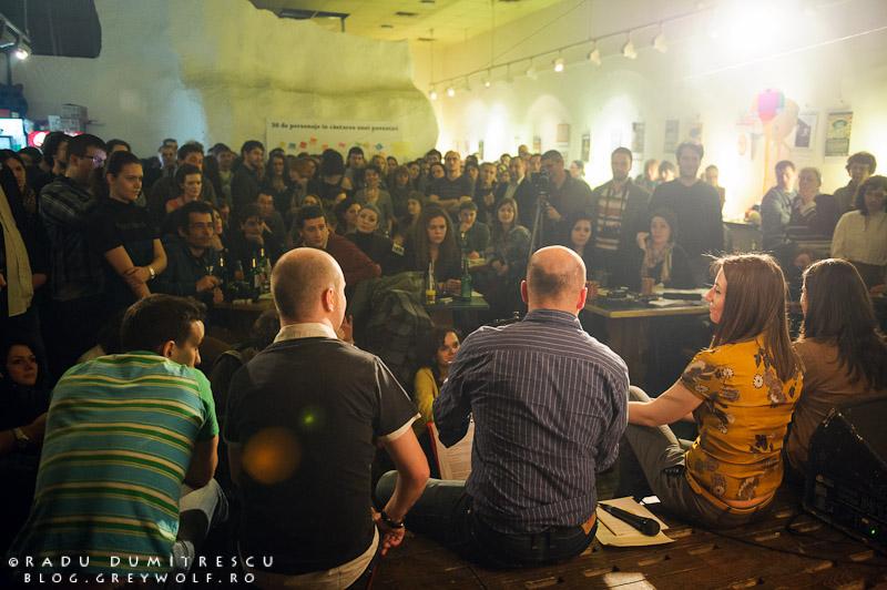 Lansare Revista de Povestiri, Muzeul Țăranului Român - 14 martie 2012 - fotografie Radu Dumitrescu