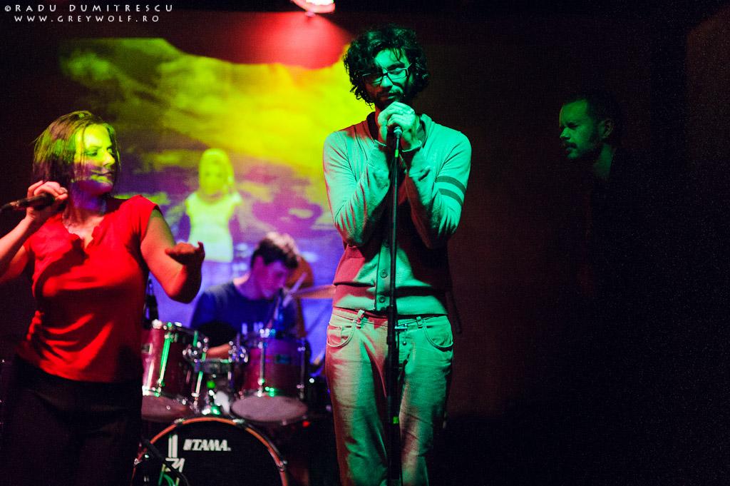 Fotografie de concert realizată de Radu Dumitrescu - Loungerie II - Club Panic.