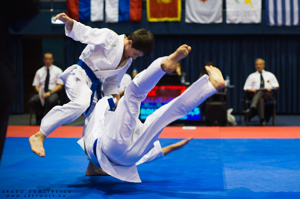 Campionatul Balcanic de Demonstrativ (Duo). Fotografie sportivă - Radu Dumitrescu.