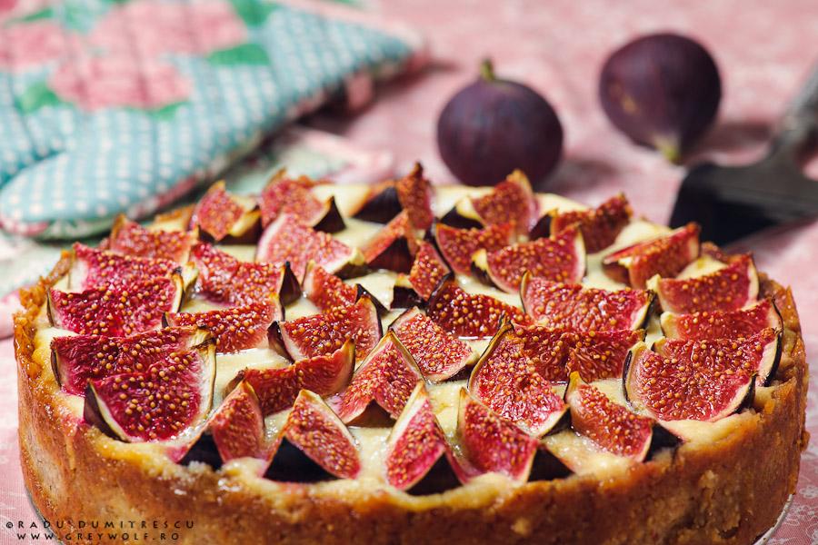 Fotografie culinară - tarta de branza cu fructe - Radu Dumitrescu fotograf