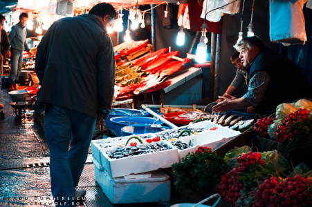 Istanbul and the Karakoy Fish Market