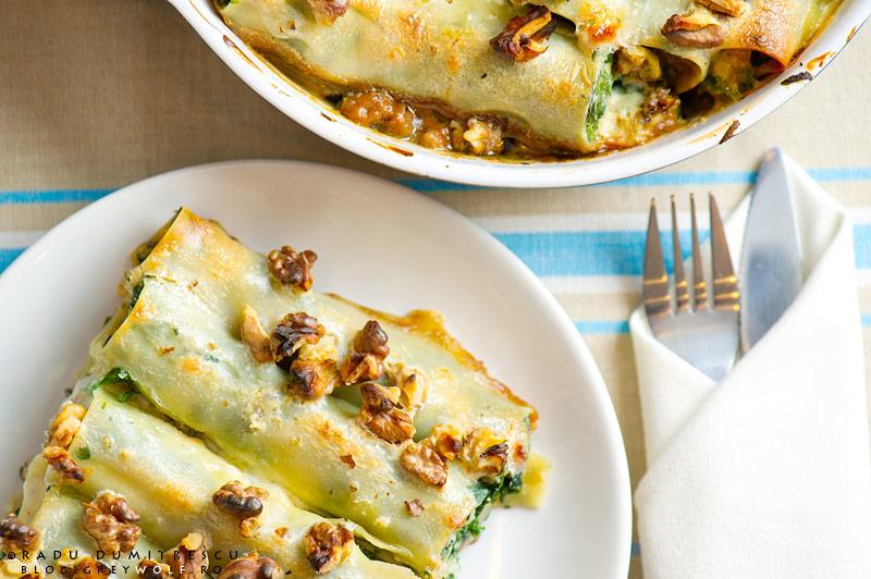canneloni gorgonzola nuci radu dumitrescu