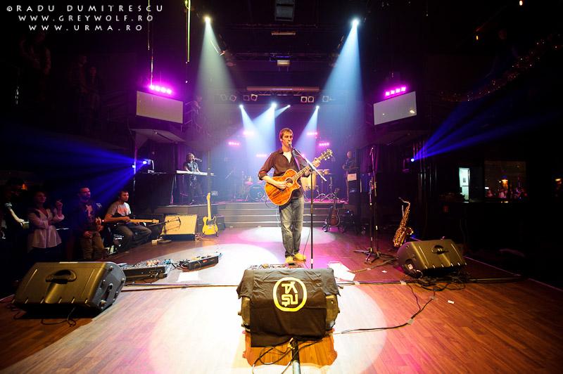 Imagine cu trupa Urma, în timpului concertului de la Jukebox Venue - fotografie de concert - Radu Dumitrescu.
