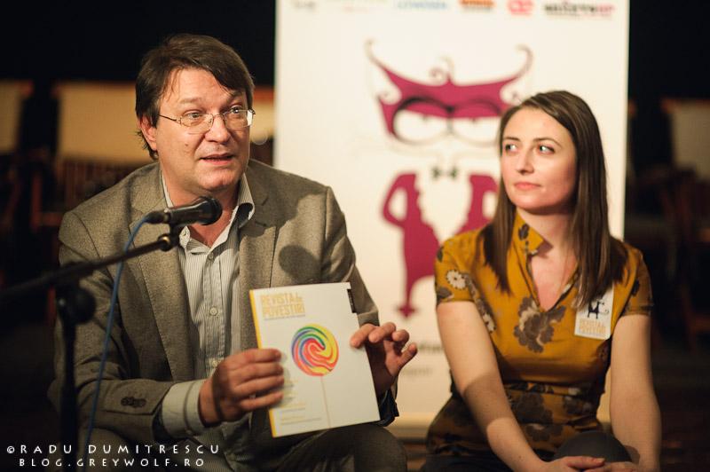 Lansare Revista de Povestiri, Muzeul Țăranului Român - 14 martie 2012, foto Radu Dumitrescu