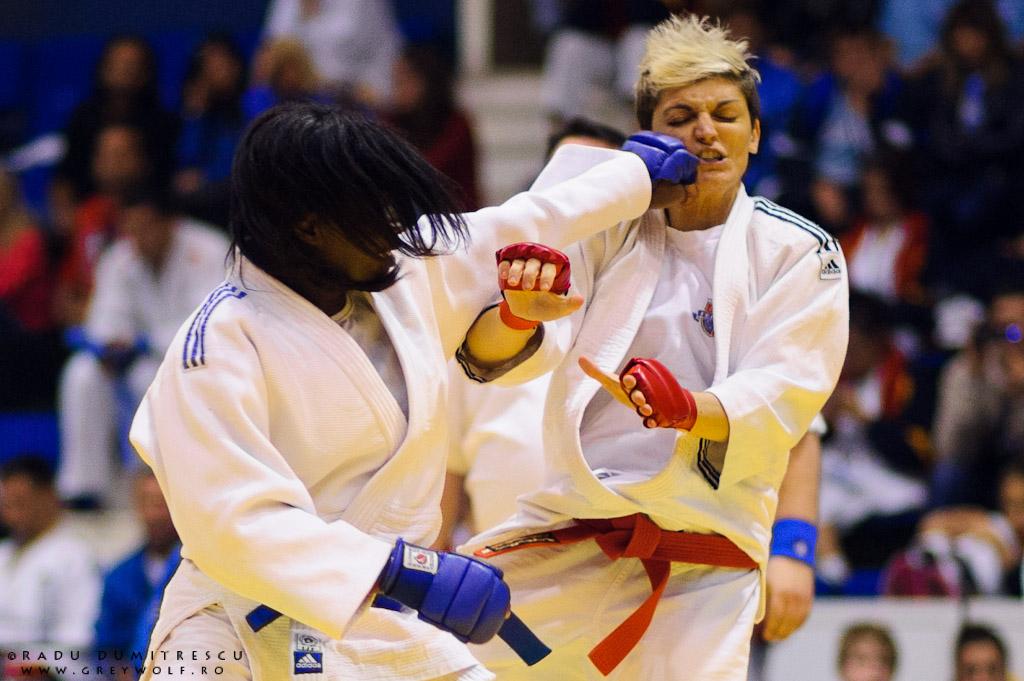 Imagine de la Campionatul Balcanic de Ju-Jitsu, București, România