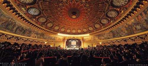 Ateneul Roman – cum am realizat cea mai frumoasa fotografie de concert a mea