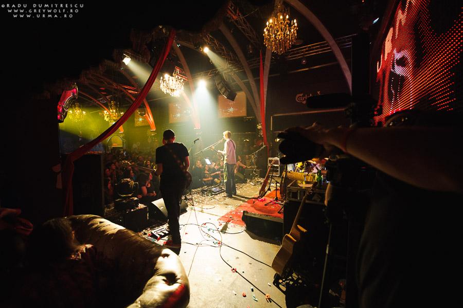 Backstage Silver Church. Concert aniversar 10 ani URMA.
