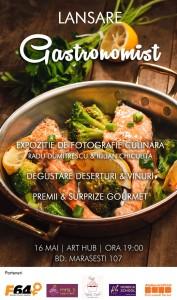Lansare Gastronomist.ro la Art Hub