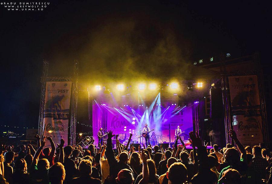 Concert URMA la Rowmania FEST, Tulcea, 2013