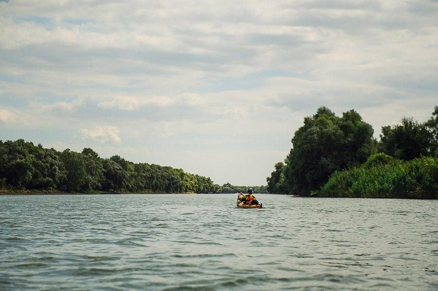 Delta Dunării în caiac - TID 2013