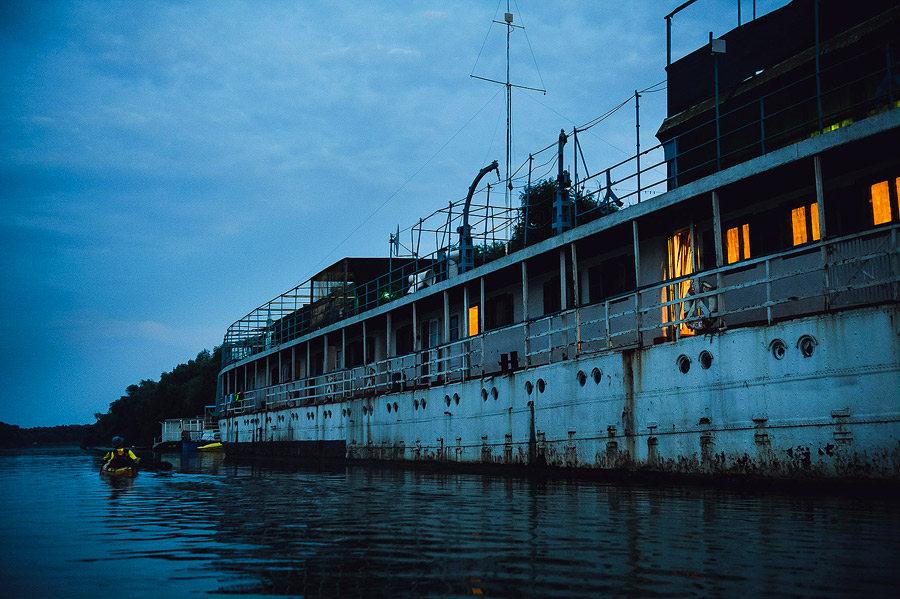 Hotel plutitor Murighiol, TID Romania
